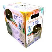 CAIXA DE CABO 2FLEX UTP CAT5 2P 100% COBRE