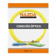 CORDÃO OPTICO SIMPLEX SC-UPC/SC-APC 0,5M MONOMODO