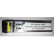SFP 1.25G 20KM BIDI LC DDM TX1550-RX1310NM B5324L-R20D