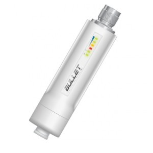 UBIQUITI BULLET-M5-HP OUTDOOR 5GHZ 400MW HOMOLOGADO  - TECTECH BRASIL COMPUTERS
