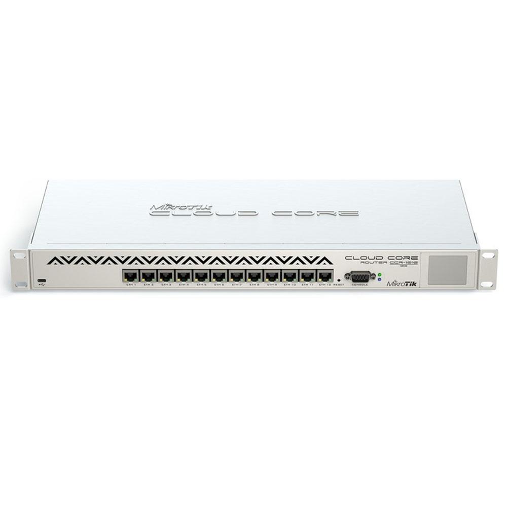 MIKROTIK CLOUD CORE ROUTER CCR1016-12G  - TECTECH BRASIL COMPUTERS