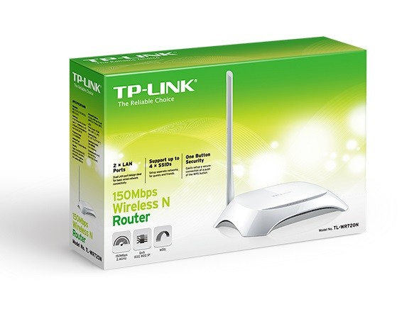 TP-LINK ROUTER TL-WR720N (BR) 150MBPS  - TECTECH BRASIL COMPUTERS