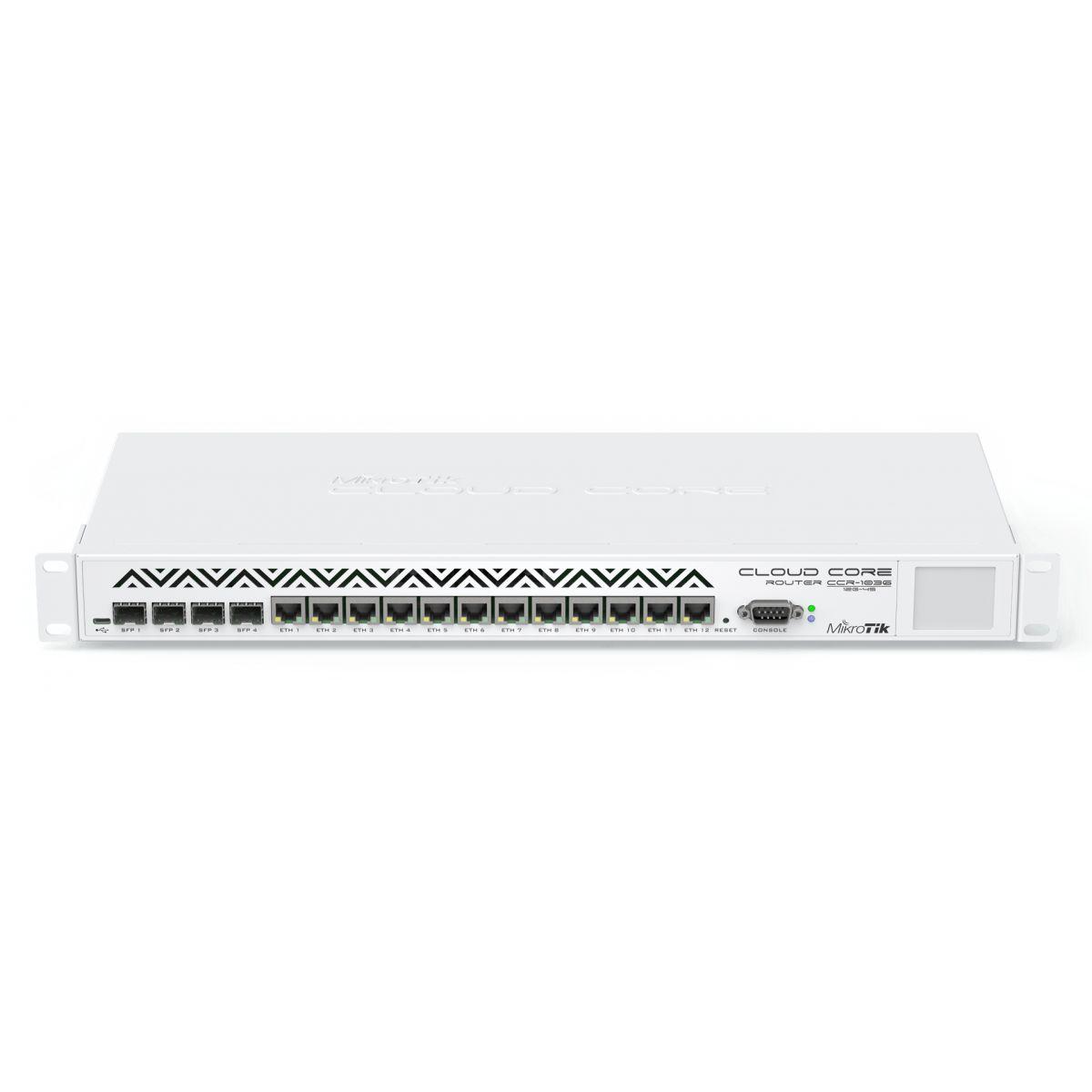 MIKROTIK CLOUD CORE ROUTER CCR1036-12G-4S  - TECTECH BRASIL COMPUTERS