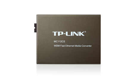 MEDIA CONV. TP-LINK MC112CS WDM 10/100MBPS   - TECTECH BRASIL COMPUTERS