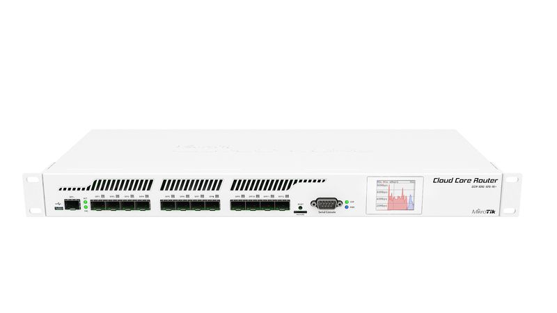 MIKROTIK CLOUD CORE ROUTER CCR1016-12S-1S+  - TECTECH BRASIL COMPUTERS