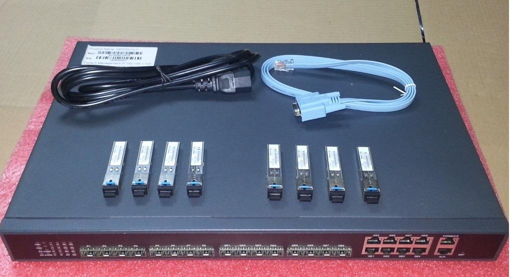 OLT EPON V1600B2 1U 16 PORTS 8PON +8 SFP  - TECTECH BRASIL COMPUTERS