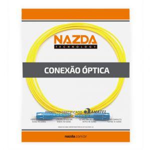 CORDÃO OPTICO SIMPLEX SC-UPC/SC-UPC 0,5M MONOMODO  - TECTECH BRASIL COMPUTERS