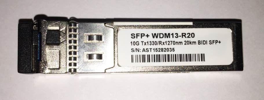 SFP+ 10G 20KM LC BIDI DDM 1330-1270NM WDM13-R20  - TECTECH BRASIL COMPUTERS