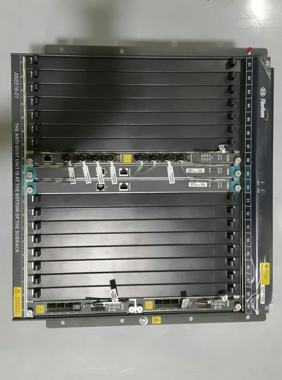 OLT AN5116-06B FBH 11U 2X HU1A+2X HSWA+GC8B 10 VENT  - TECTECH BRASIL COMPUTERS