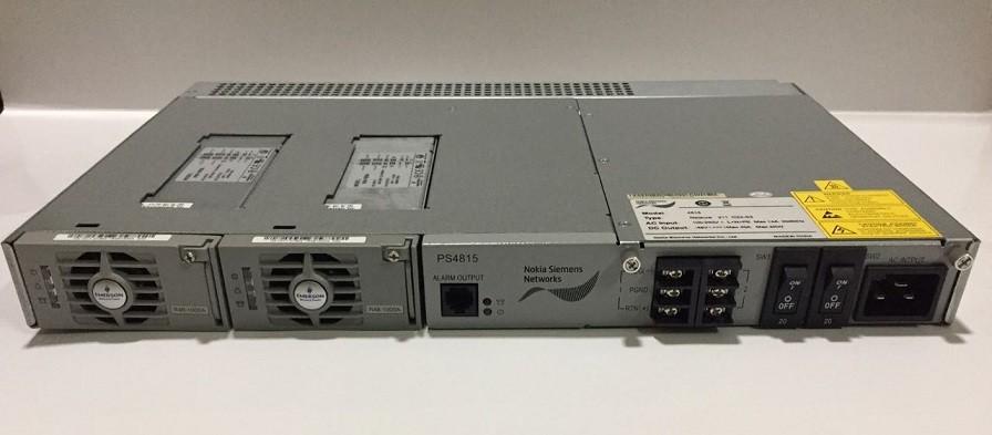 FONTE OLT EMERSON NETSURE211 C23-S2 40AMP REDUNDANTE CHAS  - TECTECH BRASIL COMPUTERS