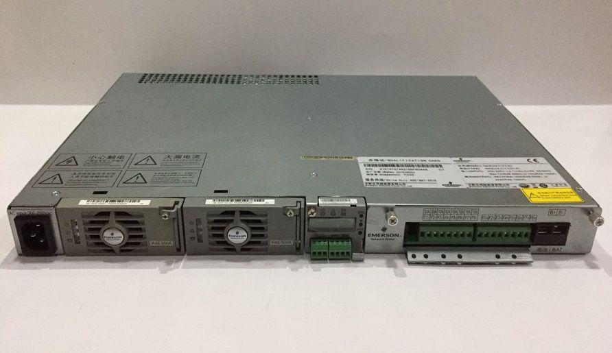 FONTE OLT EMERSON NETSURE212 C23 2 RETIFICADORES R48-500A  - TECTECH BRASIL COMPUTERS