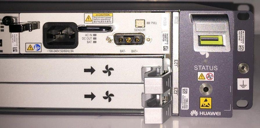 F. OLT HUAWEI 02U MINI MA5800 X2 10G 2MPSC 1PISB (AC) ANATEL  - TECTECH BRASIL COMPUTERS