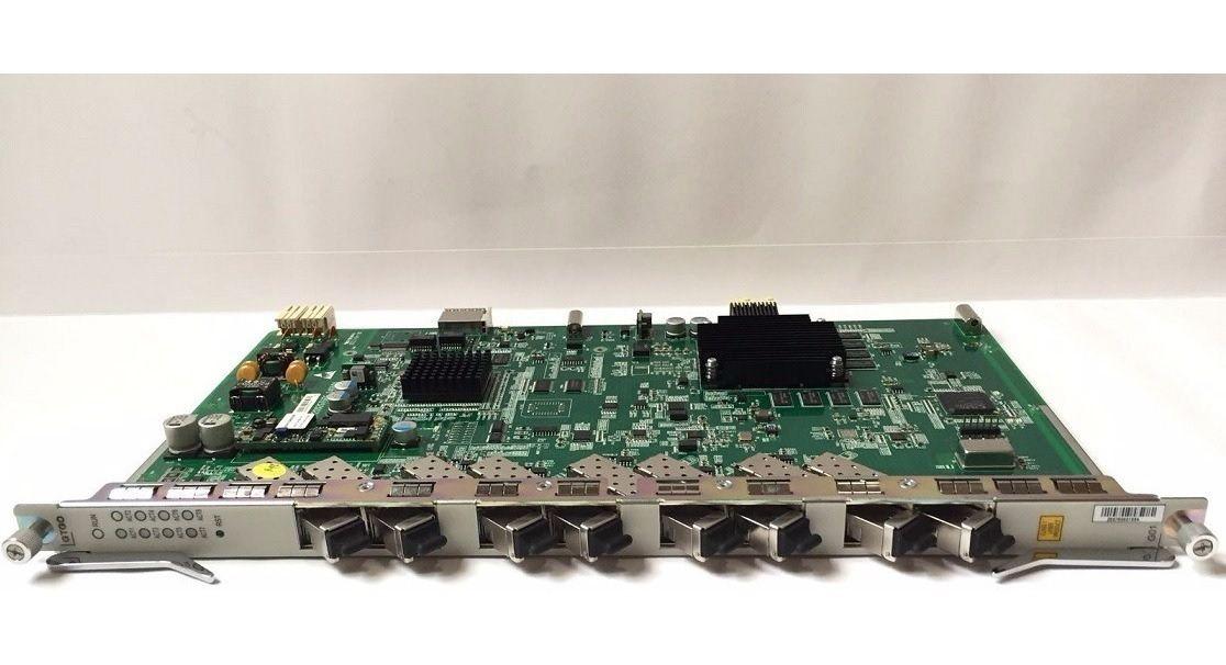 PLACA OLT GTGO C+ PARA ZTE C300-C320 COM 8 SFP MÓDULOS  - TECTECH BRASIL COMPUTERS