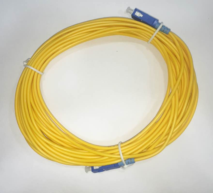 PATCH CORD SC-UPC SC-UPC SINGLE MODE 3.0MM 10M - TECTECH BRASIL COMPUTERS