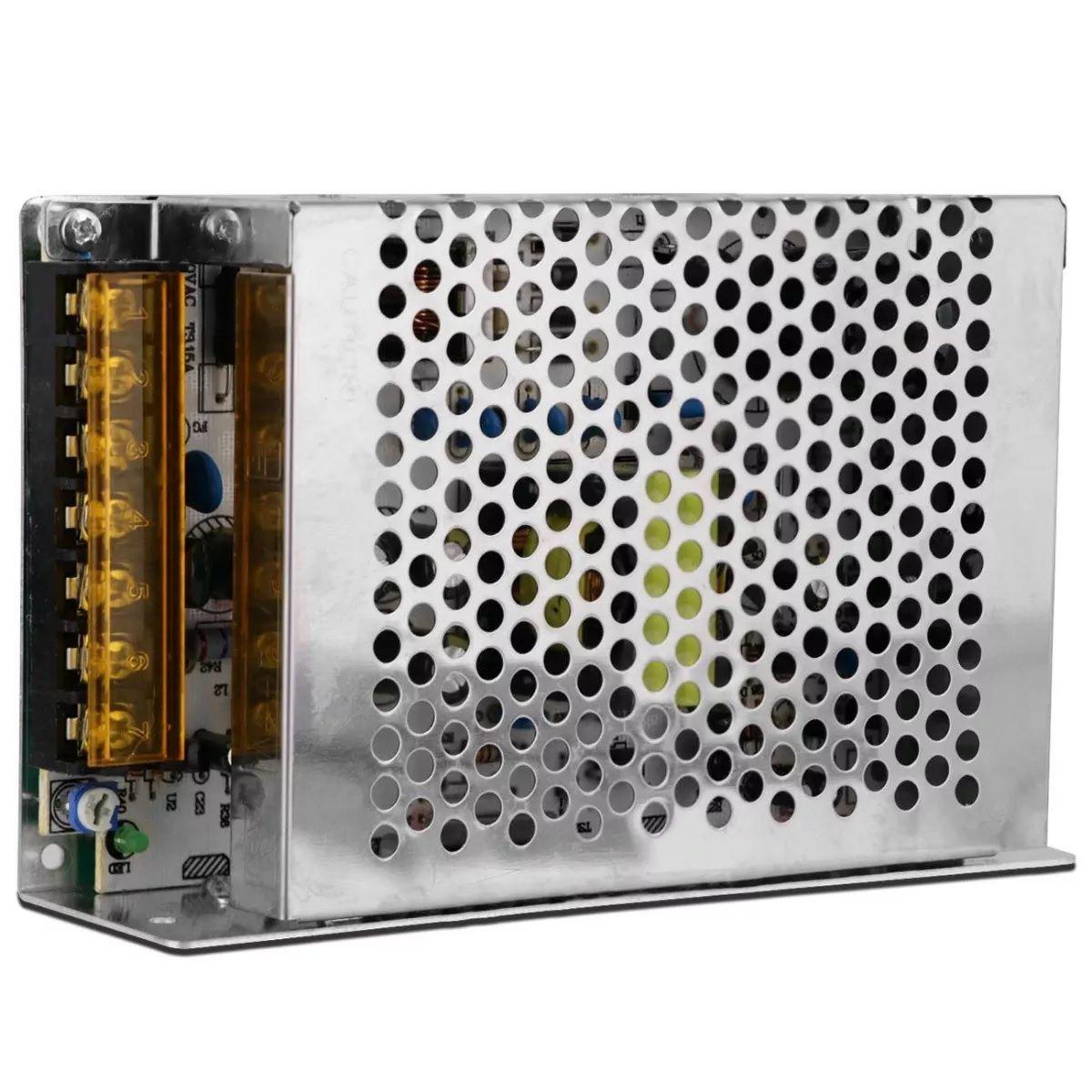 FONTE COLMEIA 12V / 10A  - TECTECH BRASIL COMPUTERS