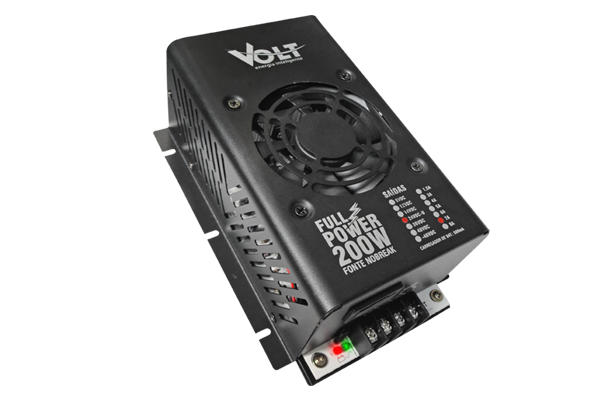 FONTE NOBREAK FULL POWER VOLT 200W 24V/7A  - TECTECH BRASIL COMPUTERS