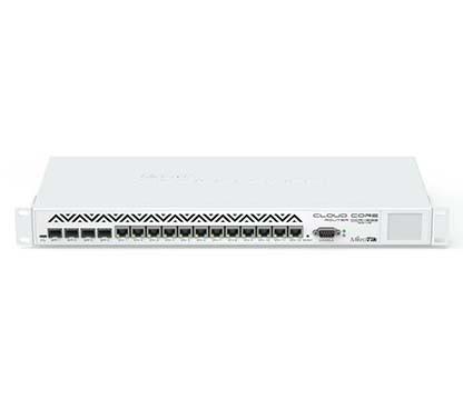 MIKROTIK CLOUD CORE ROUTER CCR1036-12G-4S-EM  - TECTECH BRASIL COMPUTERS