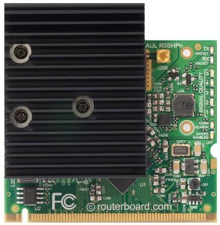 MIKROTIK- MINI PCI CARD R5SHPN CONNECTOR MMCX  - TECTECH BRASIL COMPUTERS