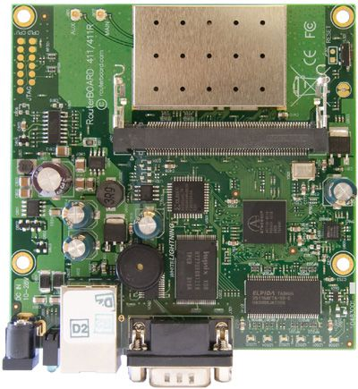 MIKROTIK- ROUTERBOARD RB 411AR L4  - TECTECH BRASIL COMPUTERS