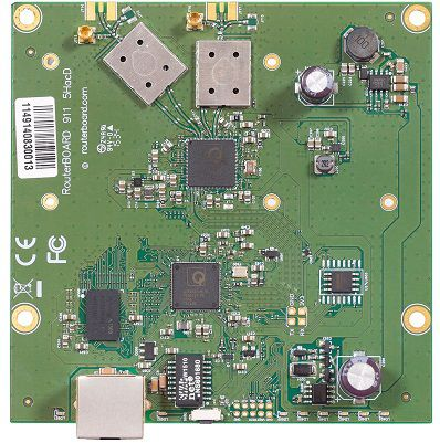 MIKROTIK- ROUTERBOARD RB 911-5HACD LITE5 AC L3  - TECTECH BRASIL COMPUTERS