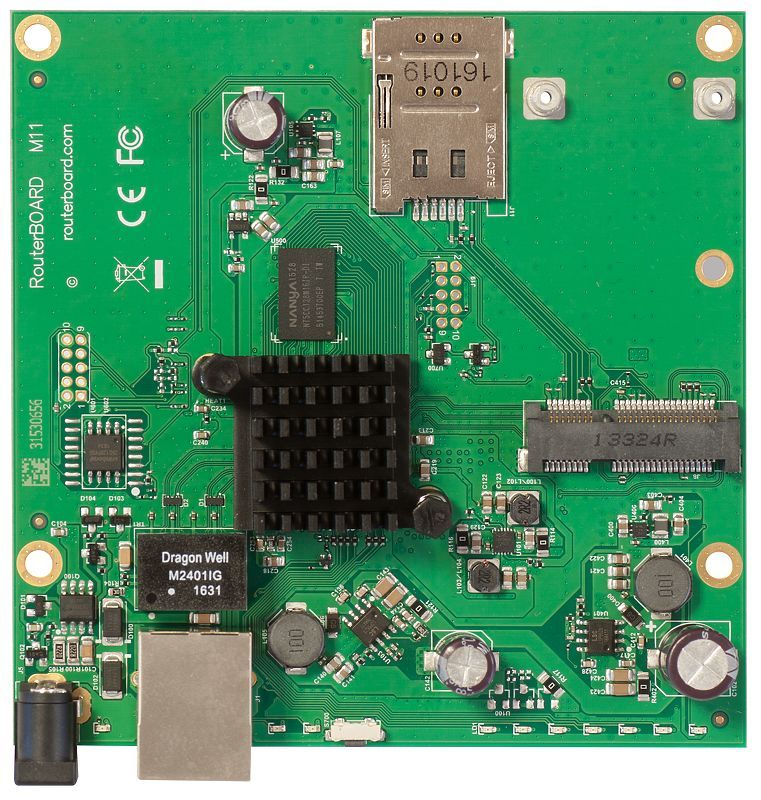 MIKROTIK- ROUTERBOARD RB M11G L4  - TECTECH BRASIL COMPUTERS