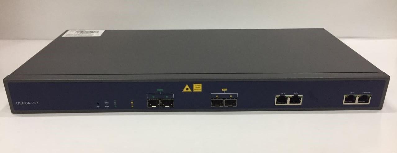 OLT EPON  V1600D2-L 1U 02 PON + 2 SFP + 2 GE(RJ45)  - TECTECH BRASIL COMPUTERS