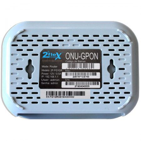 ONU 2FLEX GPON ROUTER  - TECTECH BRASIL COMPUTERS