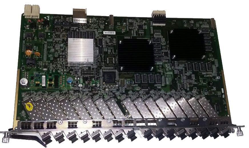 PLACA OLT GTGH C++ PARA ZTE C300-C320 COM 16 SFP MÓDULOS  - TECTECH BRASIL COMPUTERS