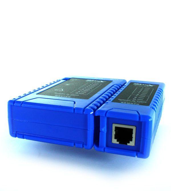 TESTADOR DE CABO COM POE RJ11/RJ45 2FLEX  - TECTECH BRASIL COMPUTERS