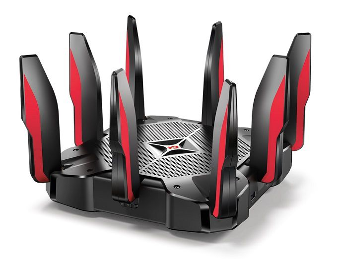 TP-LINK ARCHER C5400X GAMING ROUTER AC5400 TRI-BAND GIGA  - TECTECH BRASIL COMPUTERS
