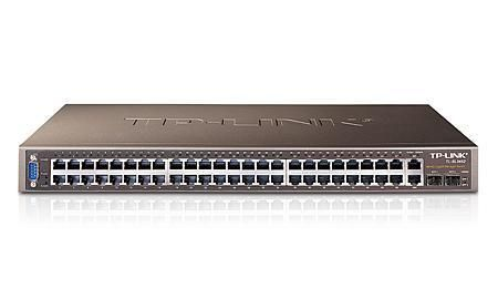 TP-LINK HUB SWITCH 48P+4G TL-SL3452 10/100/1000  - TECTECH BRASIL COMPUTERS