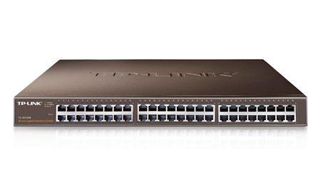 TP-LINK HUB SWITCH 48P TL-SG1048 10/100/1000  - TECTECH BRASIL COMPUTERS