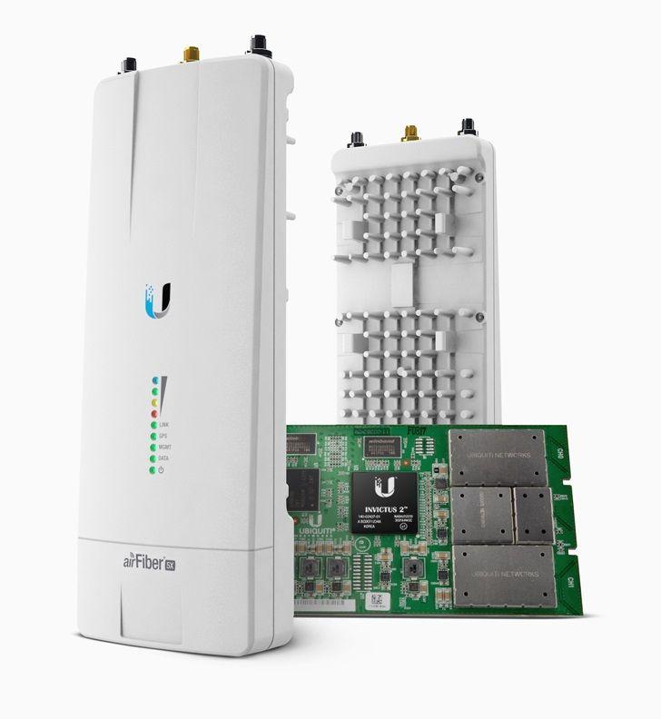 UBIQUITI AIRFIBER AF-5X-BR 5.1 A 5.8GHZ 500+MBPS (200+KM AL)  - TECTECH BRASIL COMPUTERS
