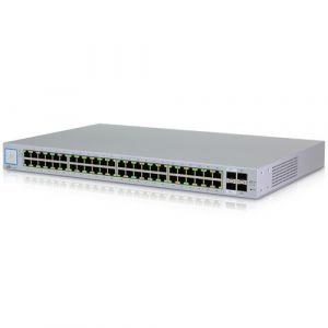 UBIQUITI SWITCH 48 PORTAS GIGABIT US-48  - TECTECH BRASIL COMPUTERS