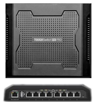 UBIQUITI TOUGHSWITCH TS-8-PRO-BR (8 PORTAS) POE  - TECTECH BRASIL COMPUTERS