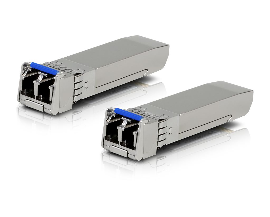 UBIQUITI UF-SM-10G SFP+ 10G 10KM LC 1310-1310NM 2-PACK  - TECTECH BRASIL COMPUTERS