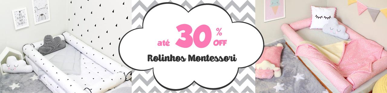 kit montessoriano rolinho 4 peças com 30% de desconto. imperdível!!!