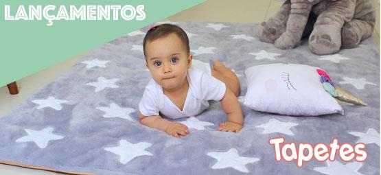 tapete de pelúcia infantil com base antiderrapante
