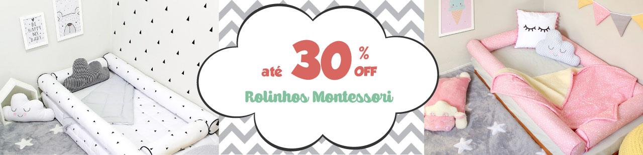 Descontos incríveis nessa black friday! Rolinhos Montessori com 30% de desconto!