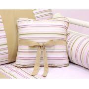 Almofada para decoração com laço - Col. Princess Charlotte