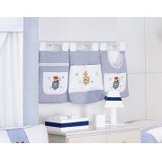 Porta Fraldas para Bebê 3 peças - Col. Ursinho Esportista
