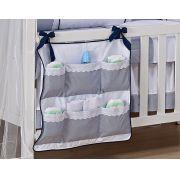 Porta Fraldas para Bebê 1 peça - Col. Ursinho Navegador