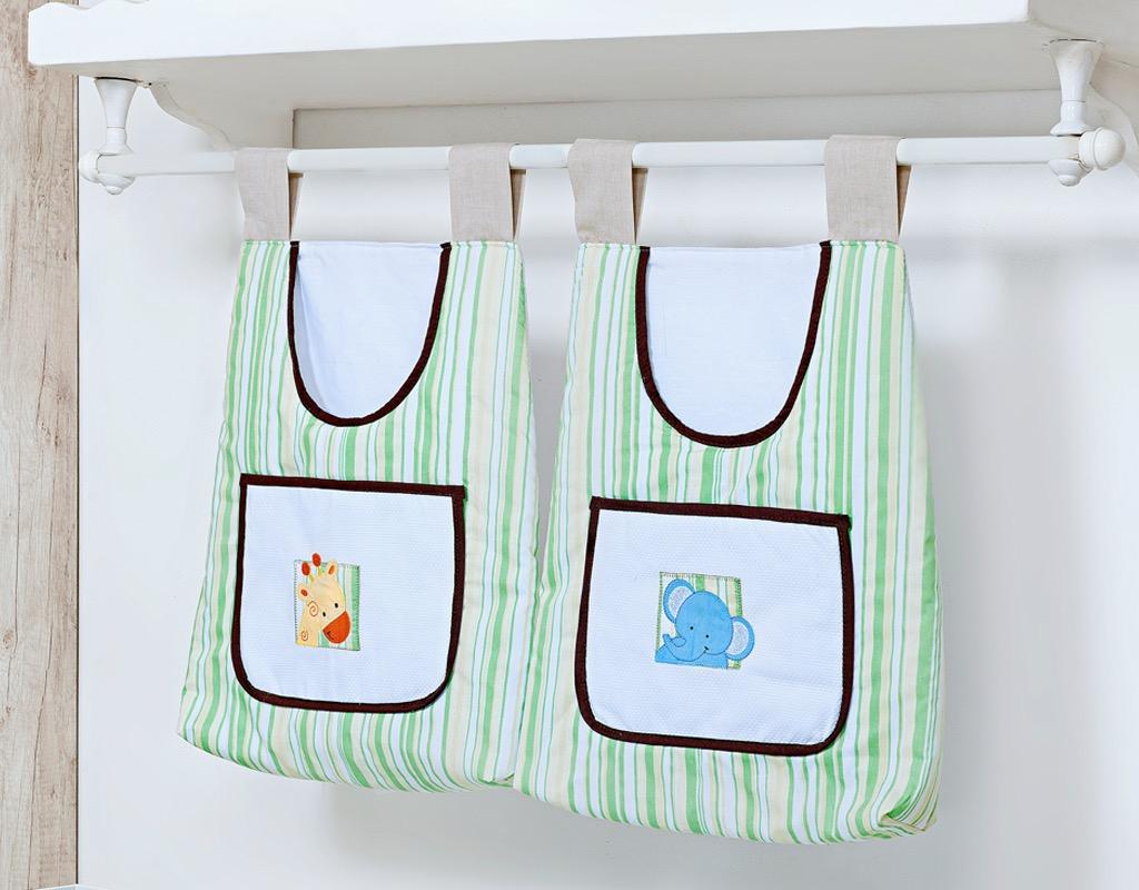 Porta Fraldas para Bebê 2 peças - Col. Kenya