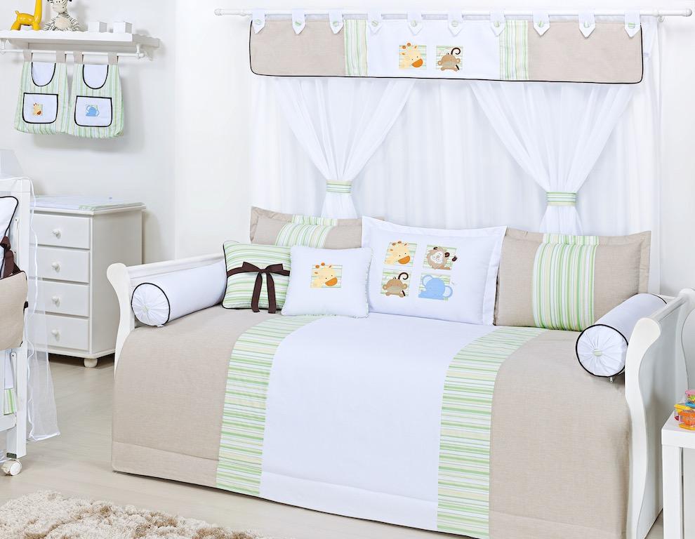 Almofada para decoração bordada - Col. Kenya