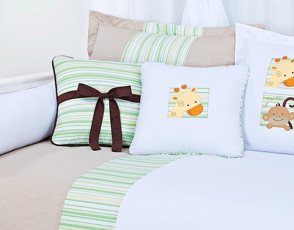Almofada para decoração com laço - Col. Kenya