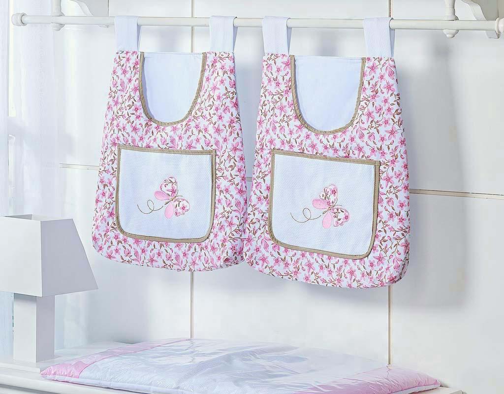 Porta Fraldas para Bebê 2 peças - Col. Jardim Secreto