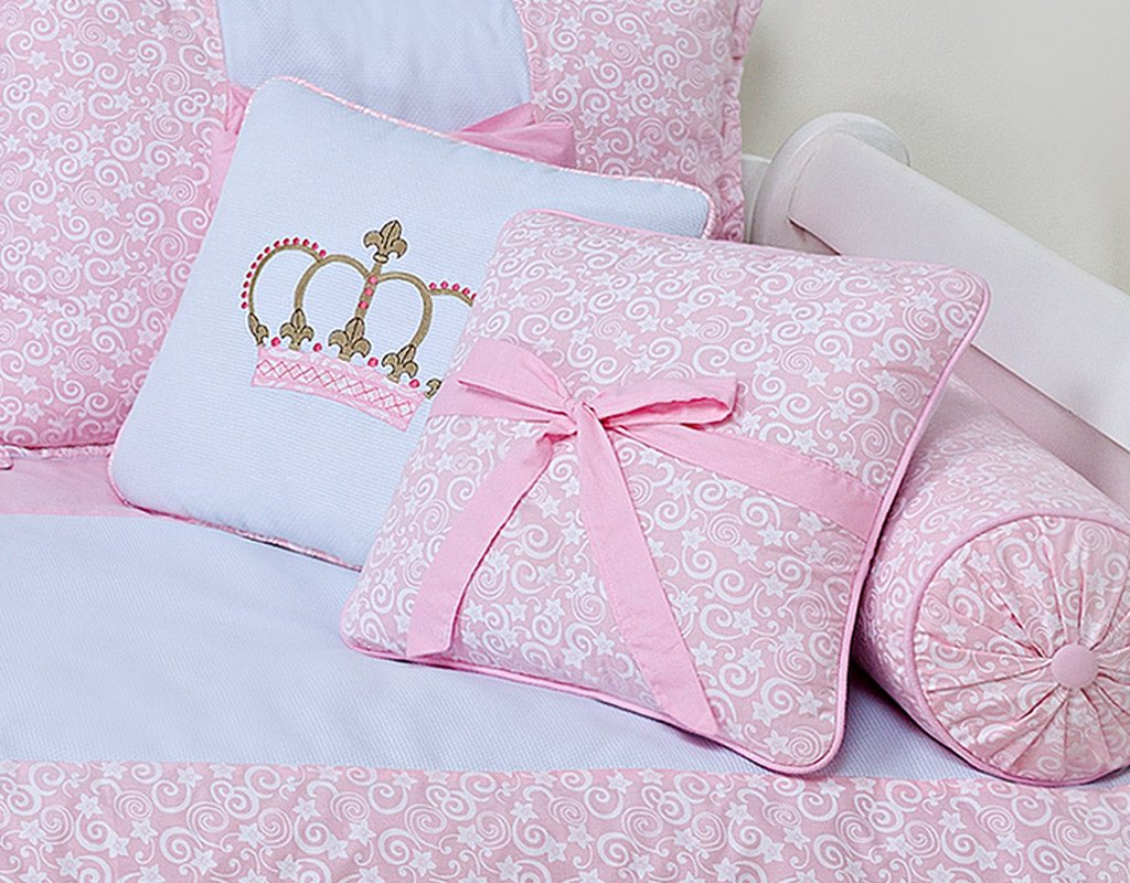 Almofada para decoração com laço - Col. Monaco