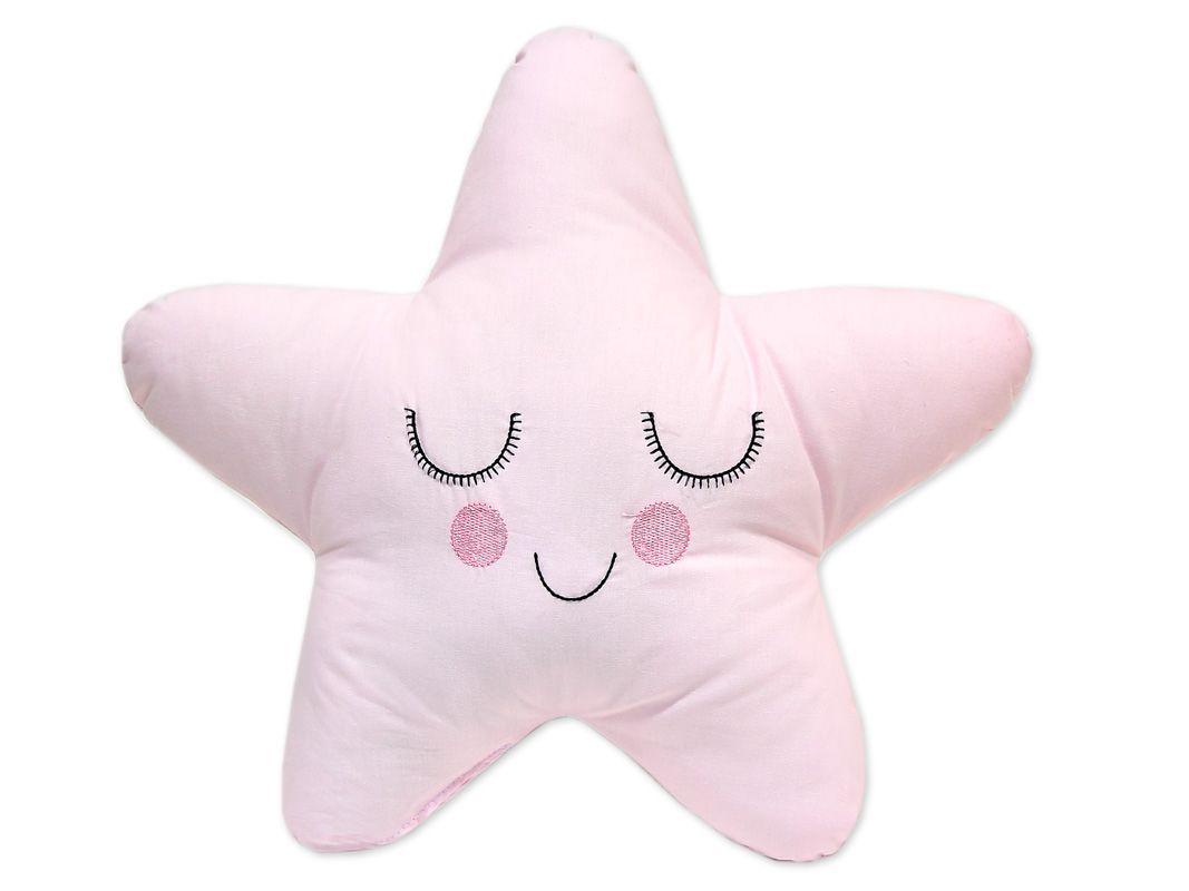 Almofada Estrela Rosa