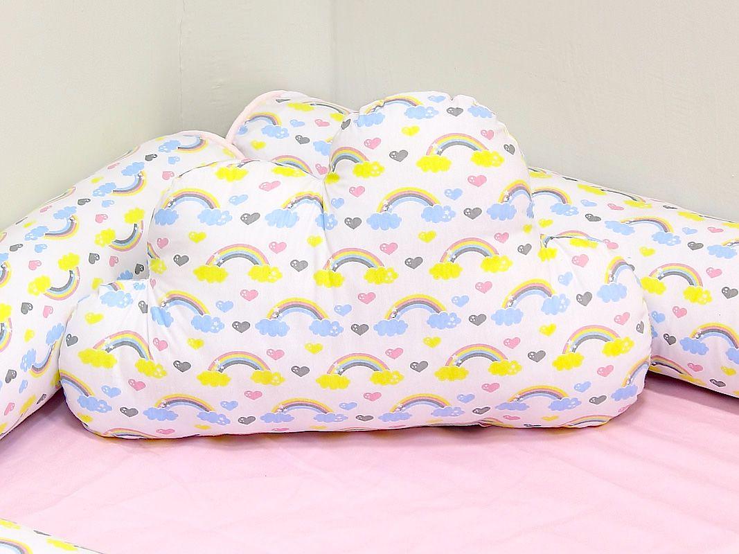 Almofada Nuvem Arco Íris