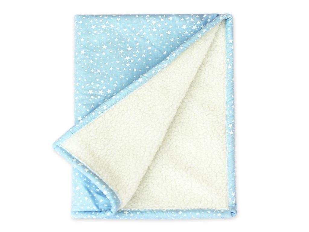 Cobertor Infantil Estrelinhas Azul